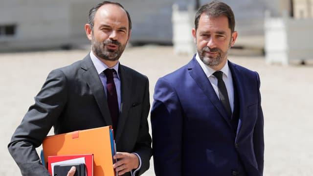 Edouard Philippe et Christophe Castaner.