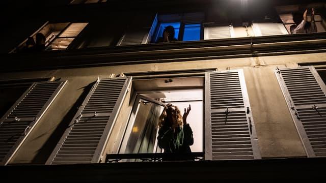 Le confinement, à Paris.