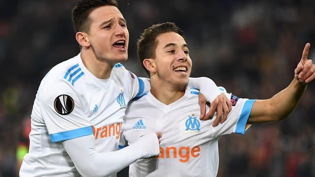 Florian Thauvin et Maxime Lopez