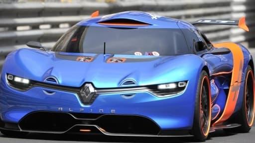 Renault présente ce concept-car, l'Alpine A110-50