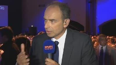 Jean-François Copé répond aux questions de Ruth Elkrief, le 21 mai 2014 sur BFMTV