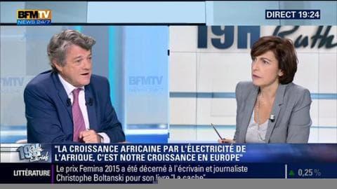 Jean-Louis Borloo face à Ruth Elkrief
