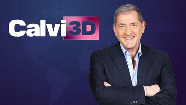"Yves Calvi présente ""Calvi 3D"" sur BFMTV"