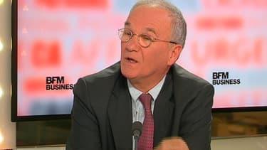 Gilles Carrez, le président (UMP) de la commission des Finances de l'Assemblée, était l'invité de BFM Business.