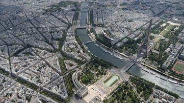 Selon une étude, Paris est la ville qui compte le moins d'espaces verts.