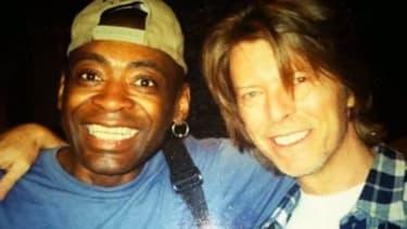 Dennis Davis et David Bowie