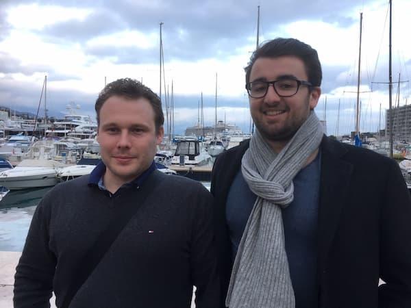 Sébastien Icard et Dimitri Jeangérard sont les cofondateurs de Monoeci (ex-MonacoCoin), une crypto-monnaie qu'ils souhaitent développer à Monaco