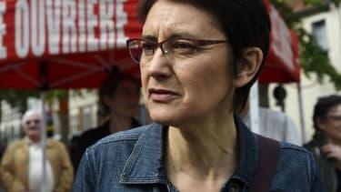 Nathalie Arthaud - BERTRAND GUAY / AFP