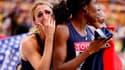 Le relais féminin français du 4x100m