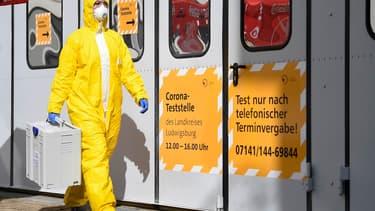 L'épidémie de coronavirus en Allemagne (illustration)