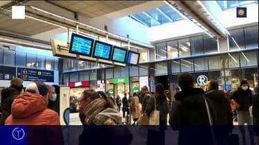 En raison d'une vague de froid, les trains entre Paris et La Rochelle suspendus au moins jusqu'à samedi midi