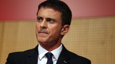 Le Premier ministre Manuel Valls, le 3 novembre 2015.