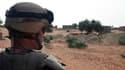 Un soldat français de l'opération Serval, au Mali, le 16 octobre 2013.