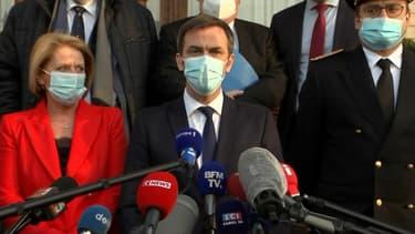 Le ministre de la Santé, Olivier Véran, à Dunkerque (Nord), le 24 février 2021.