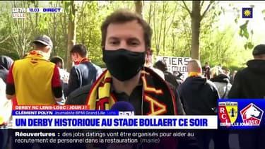 Ligue 1: beaucoup d'ambiance à Lens avant le derby du Nord