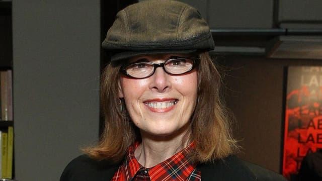 La journaliste et éditorialiste américaine E. Jean Carroll lors d'une soirée à New York, le 17 novembre 2015