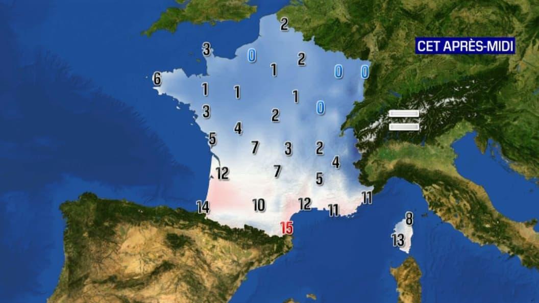 Neige-verglas, grand froid, crues: 17 départements en vigilance orange, un samedi glacial au nord - BFMTV