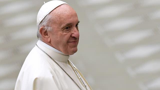 Le pape François, le 13 décembre 2017.