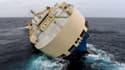 """Le """"Modern Express"""" est à la dérive depuis mardi dans le Golfe de Gascogne."""
