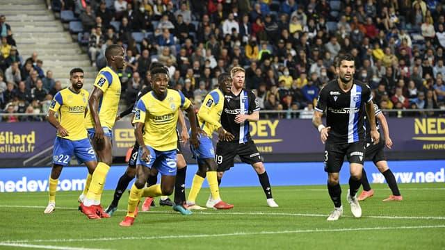Sochaux face à Auxerre