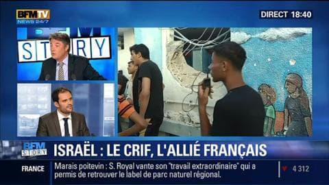 BFM Story: Le CRIF appelle à un rassemblement pro-israélien demain à Paris - 30/07