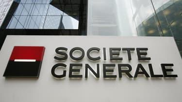 Le cours de l'action Société Générale a dégringolé de 51% depuis le 1er janvier.