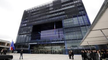 L'Hôtel de Ville de Montpellier, lors de son inauguration en novembre 2011.
