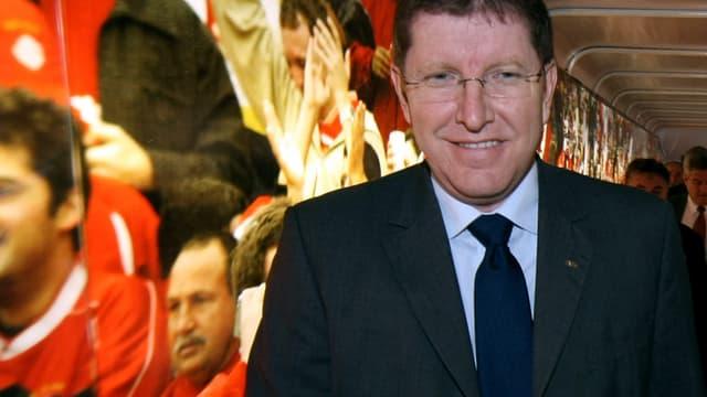 Thierry Weil est le directeur marketing de la FIFA
