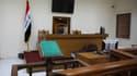 Dans un tribunal de Bagdad, où sont prononcées les peines de mort contre des jihadistes.
