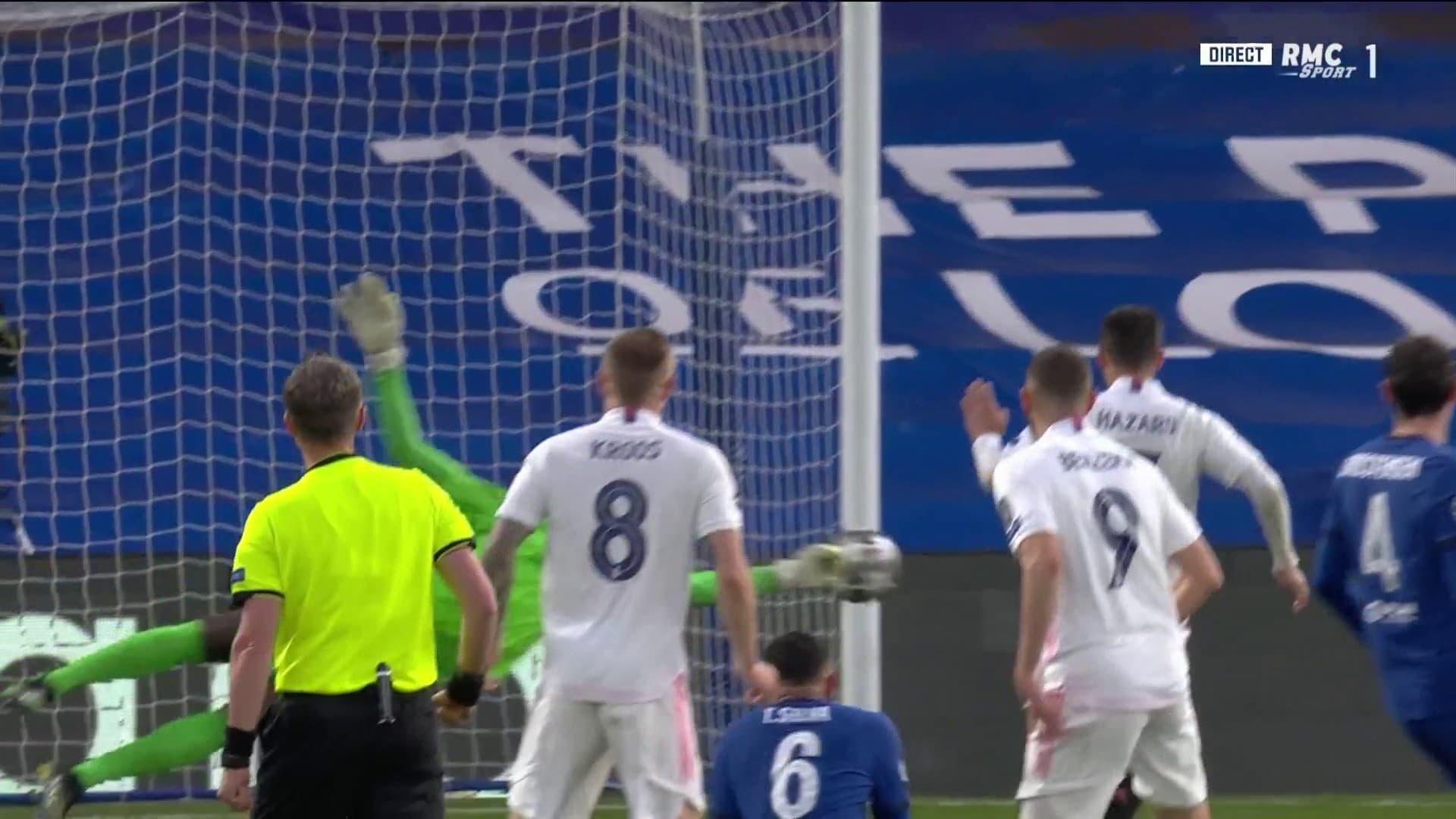 Le premier arrêt de Mendy devant Benzema
