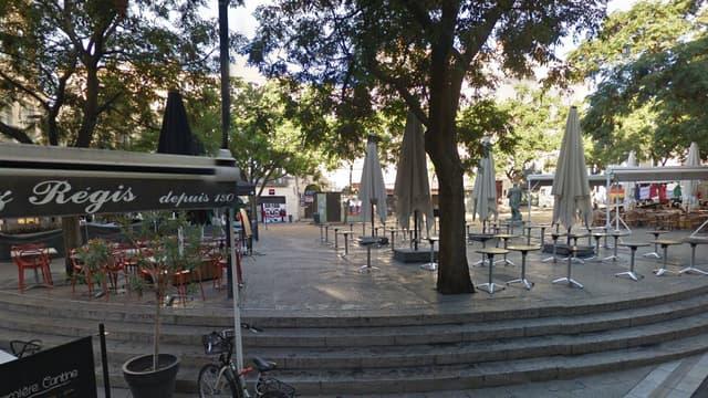 La place Jaurès, à Montpellier.
