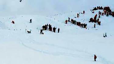Le risque d'avalanche a été élevé à 4, sur une échelle de 1 à 5.