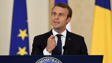 Le président de la République est en tournée en Europe de l'Est.