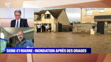 Seine-et-Marne: Inondation après des orages - 02/06