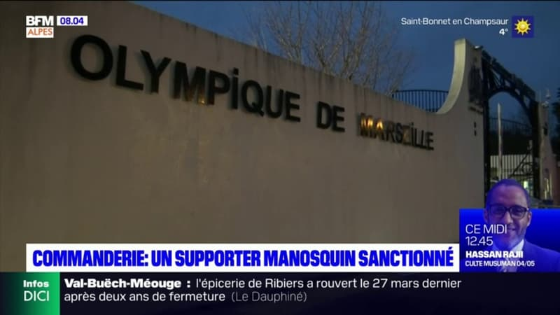 Incidents à la commanderie à Marseille: un supporter manosquin sanctionné demande un aménagement de peine