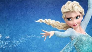 """Elsa, l'une des héroïnes de """"la Reine des neiges"""", long-métrage de Disney, sorti en 2013."""
