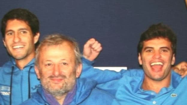 Malek Jaziri et Amir Weintraub.