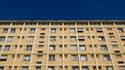 Façade d'immeuble à Rouen, le 28 août 2012.