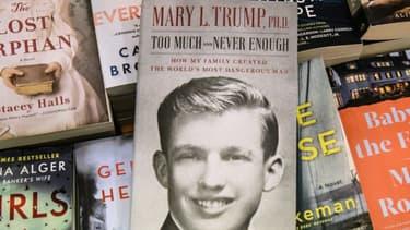La couverture du livre de Mary Trump sur le clan Trump et son oncle, Donald Trump
