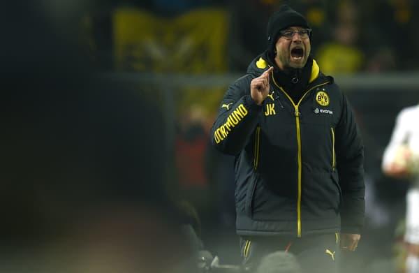 Jürgen Klopp avec le Borussia Dortmund