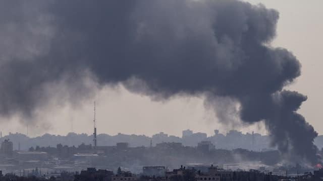 Gaza après une frappe israélienne, le 29 juillet 2014.