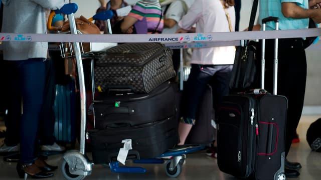 Plusieurs passagers sont sans bagages depuis plusieurs jours