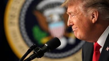Donald Trump à la Maison Blanche le 20 Décembre 2018.