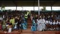 Cérémonie de commémoration du génocide à Kicukiru le 5 avril 2014