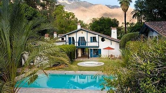 La maison de Cary Grant située à Palm Springs