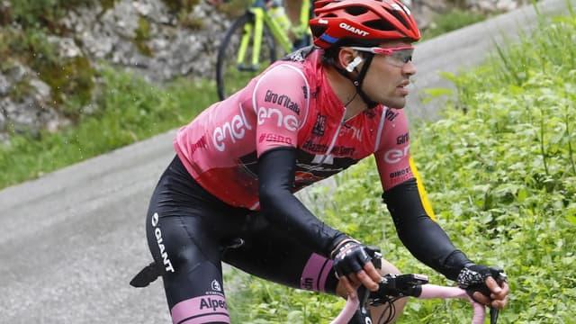 Tom Dumoulin (Giant-Alpecin) se plait en rose sur ce Tour d'Italie.