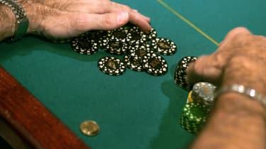 Une partie de poker à l'Aviation Club de France, en juin 2006. (photo d'illustration)