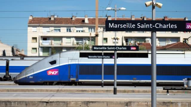 La gare de Marseille Saint-Charles. (illustration)