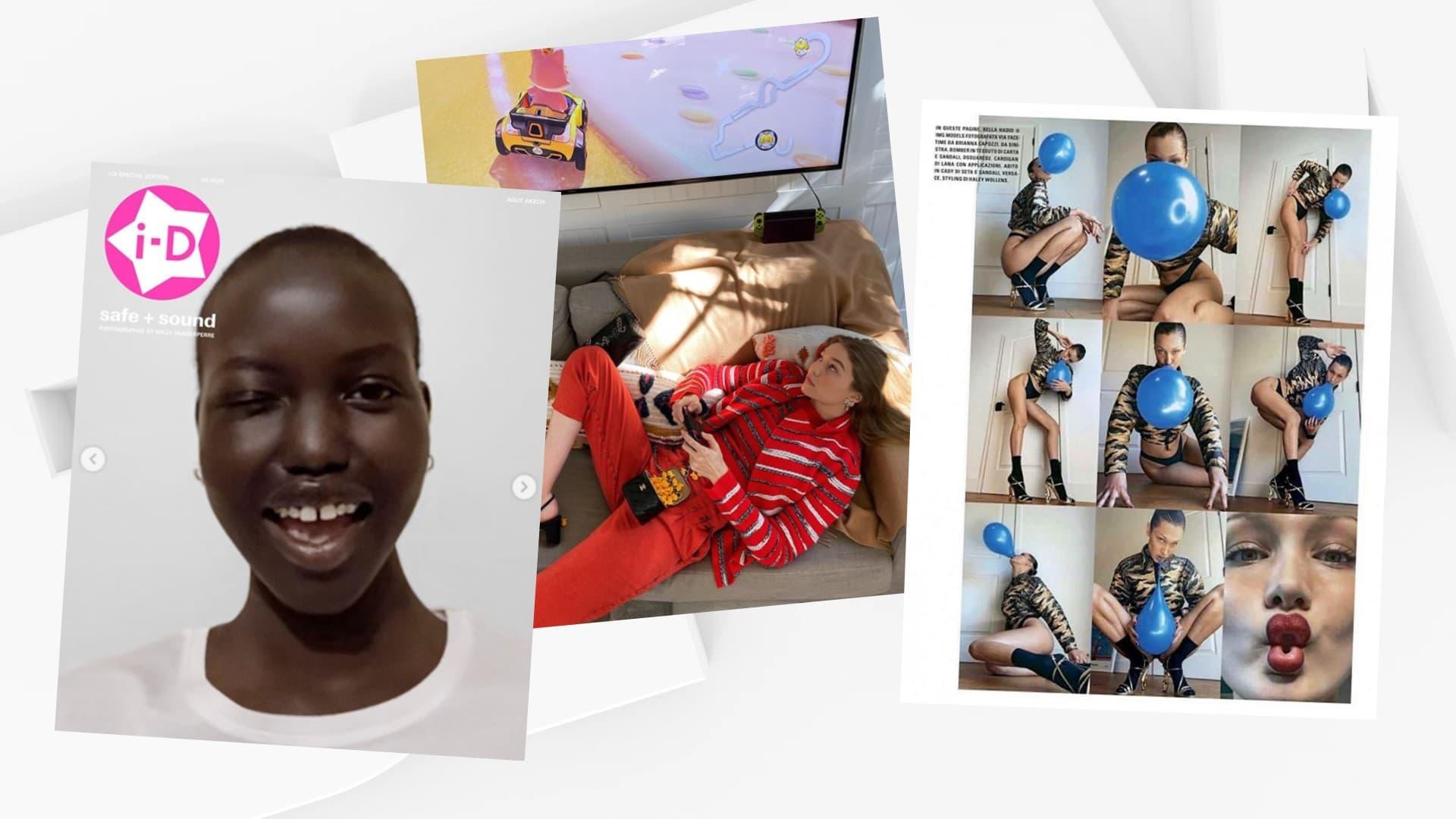 Selfies, retardateur et FaceTime: les géants de la mode se mettent aux shootings confinés