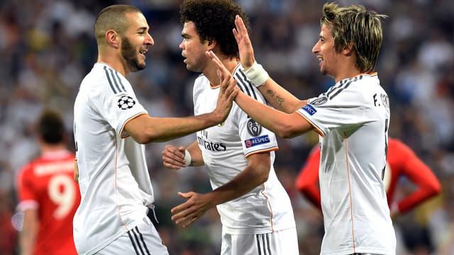 Benzema, Pepe et Coentrao